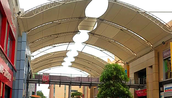 Prefabricated Shade Structure Even At Rs 190 Sft